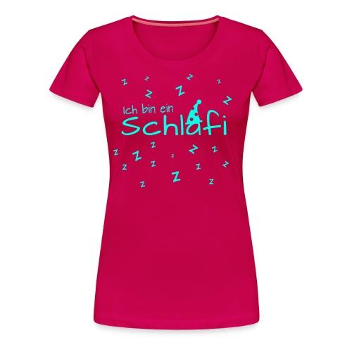 Ich bin ein Schlafi - Frauen Premium T-Shirt
