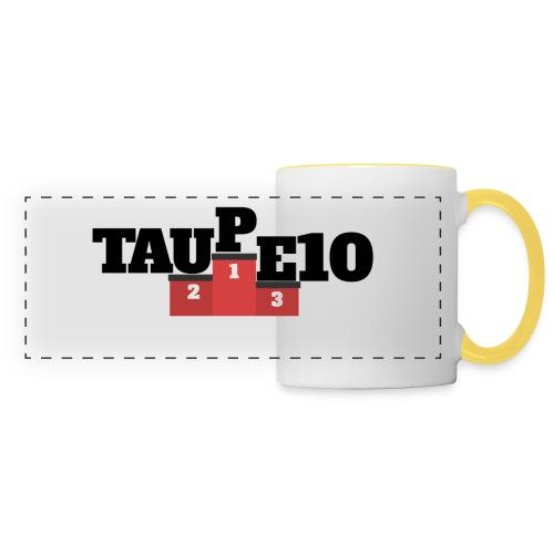 Peluche Taupe10 - Mug panoramique contrasté et blanc