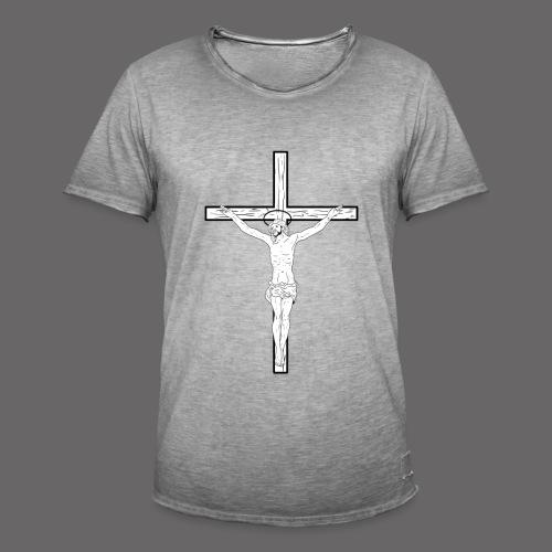 JESUS SHOCKER - Men's Vintage T-Shirt