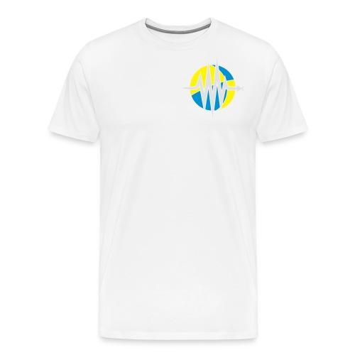 ObsPy Baseball T-Shirt  Front+Sleeve - Men's Premium T-Shirt