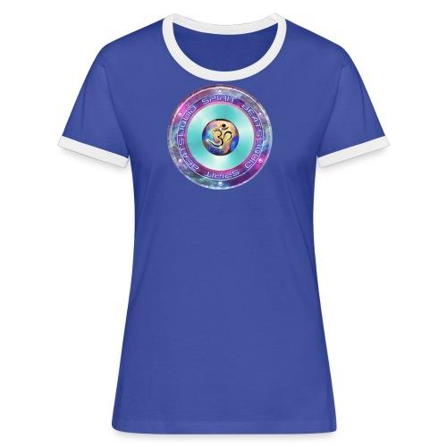 Liquid Spirit Beats Damen Shirt - Frauen Kontrast-T-Shirt