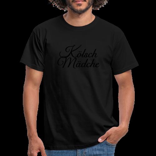 Kölsch Mädche Classic (Gold) Mädchen aus Köln - Männer T-Shirt