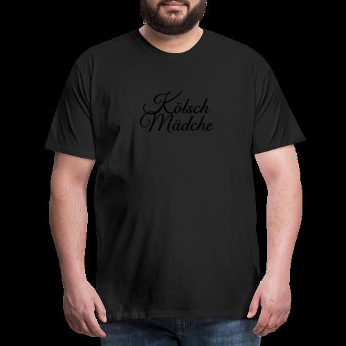 Kölsch Mädche Classic (Gold) Mädchen aus Köln - Männer Premium T-Shirt