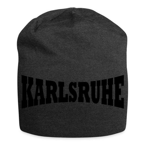 Tasche  Karlsruher braun - Jersey-Beanie