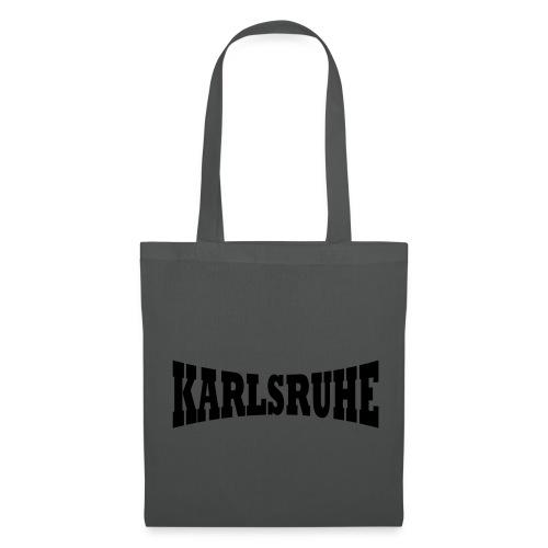 Tasche  Karlsruher braun - Stoffbeutel