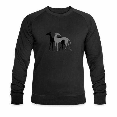 2 Galgos - Männer Bio-Sweatshirt von Stanley & Stella