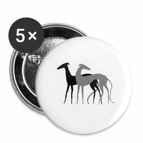 2 Galgos - Buttons mittel 32 mm