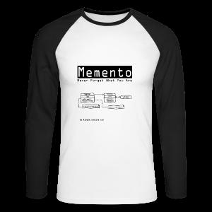 Memento (Women) - Men's Long Sleeve Baseball T-Shirt