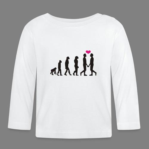 gay evolution - Baby Langarmshirt