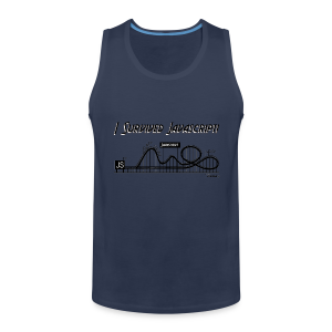 I Survived Javascript - Men's Premium Tank Top