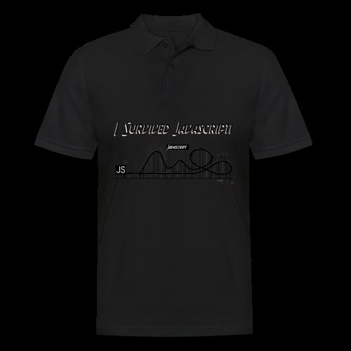 I Survived Javascript (Women) - Men's Polo Shirt