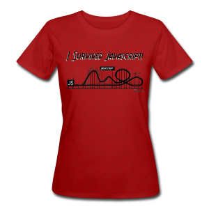 I Survived Javascript (Women) - Women's Organic T-shirt