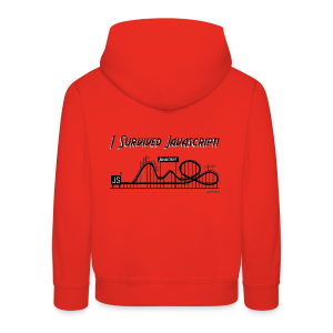 I Survived Javascript (Women) - Kids' Premium Hoodie