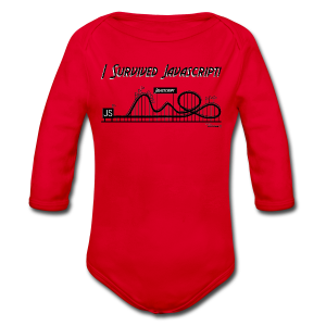 I Survived Javascript (Women) - Longsleeve Baby Bodysuit
