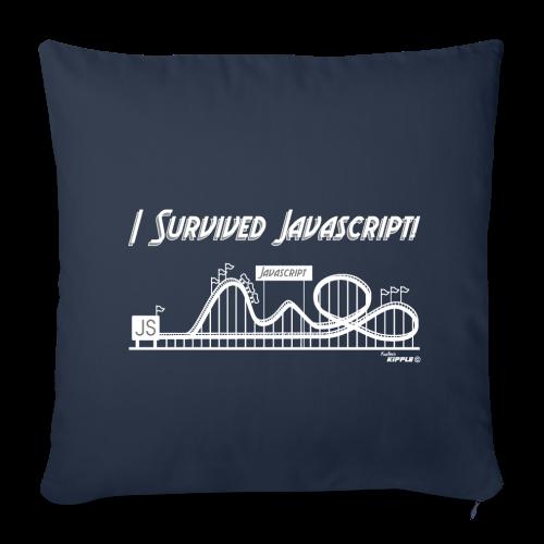 I Survived Javascript (Women) - Sofa pillow cover 44 x 44 cm