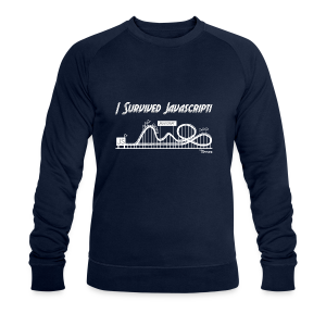 I Survived Javascript (Women) - Men's Organic Sweatshirt by Stanley & Stella