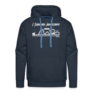I Survived Javascript (Women) - Men's Premium Hoodie
