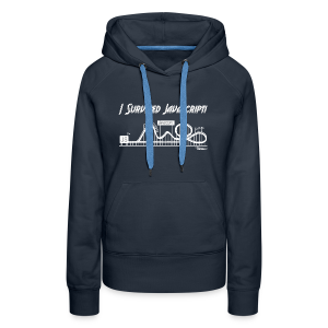 I Survived Javascript (Women) - Women's Premium Hoodie