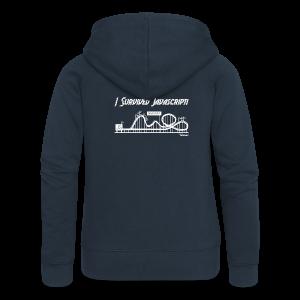I Survived Javascript (Women) - Women's Premium Hooded Jacket
