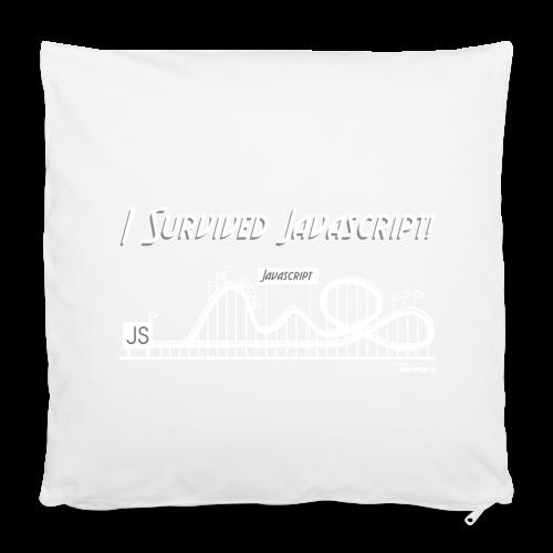 I Survived Javascript (Women) - Pillowcase 40 x 40 cm