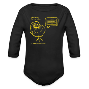 Singleton Design Pattern (Yellow) - Longsleeve Baby Bodysuit