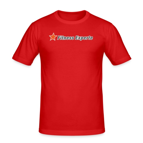 FitnessExperte - Männer Slim Fit T-Shirt