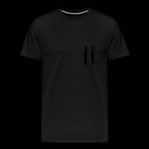 Kapuzenpullover Unisex Der Strick Extended - Männer Premium T-Shirt