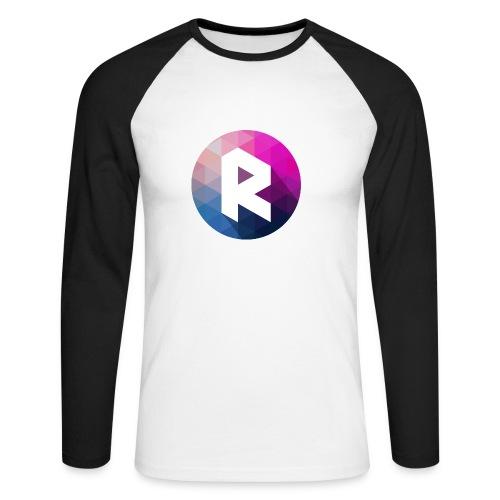 Buttons - Men's Long Sleeve Baseball T-Shirt