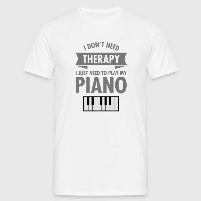 Therapy - Piano T-Shirts - Men's T-Shirt