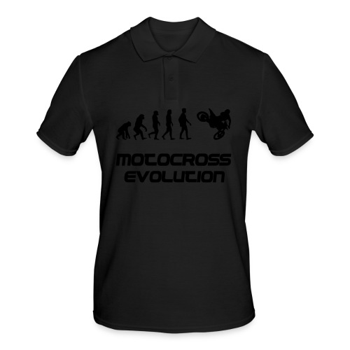 Motocross Evolution - Männer Poloshirt