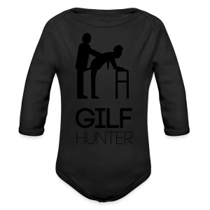 Gilf Hunter - Baby Bio-Langarm-Body