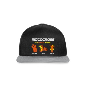 Motocross - It's hard work - Snapback Cap