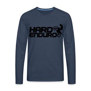 Hard Enduro - Männer Premium Langarmshirt
