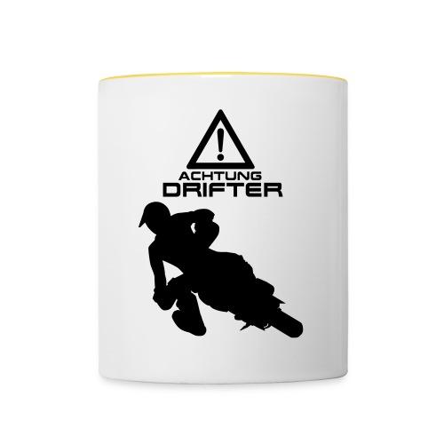 Supermoto Drifter - Tasse zweifarbig