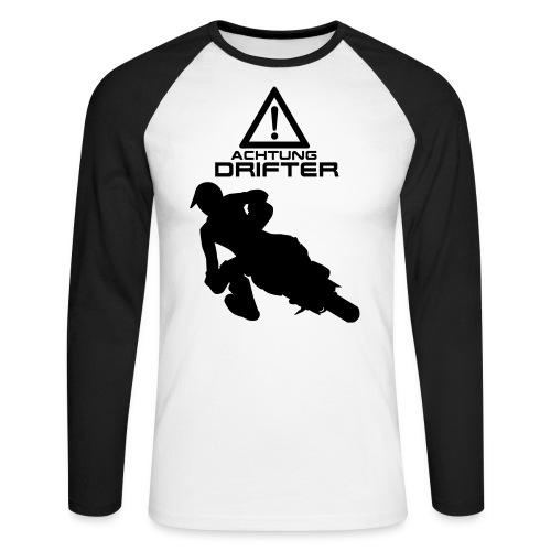 Supermoto Drifter - Männer Baseballshirt langarm