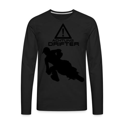 Supermoto Drifter - Männer Premium Langarmshirt