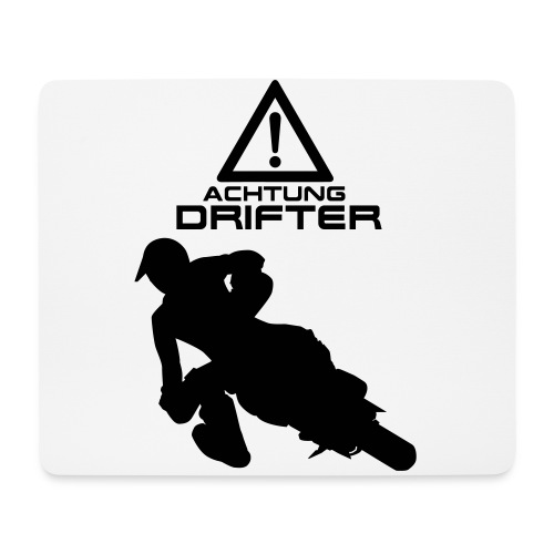 Supermoto Drifter - Mousepad (Querformat)