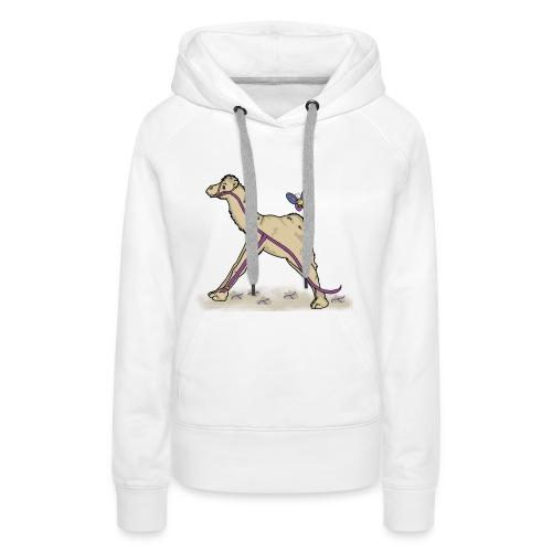 Lambda-Camel T-Shirt Frauen - Frauen Premium Hoodie