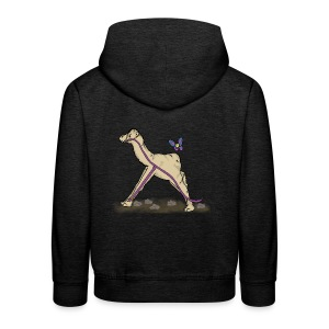 Lambda-Camel T-Shirt Frauen - Kinder Premium Hoodie