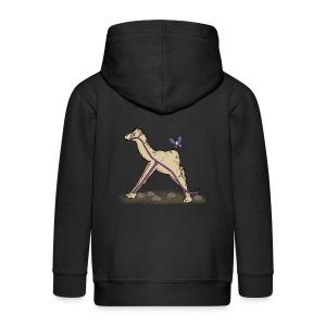 Lambda-Camel T-Shirt Frauen - Kinder Premium Kapuzenjacke