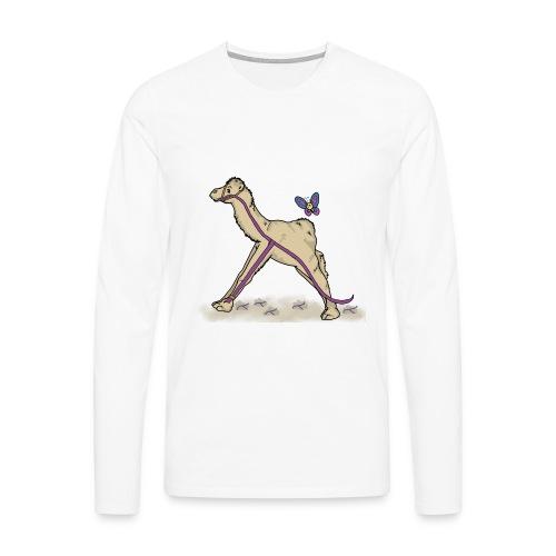 Lambda-Camel T-Shirt Frauen - Männer Premium Langarmshirt