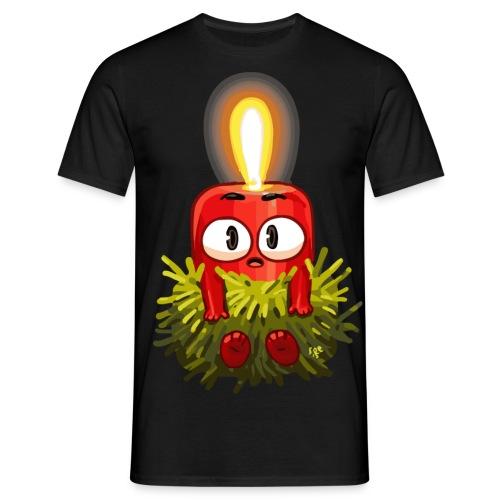 Kerzenbaby - Männer T-Shirt