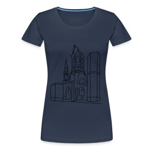 Kaiser Wilhelm Memorial Church Berlin Long Sleeve Shirts - Women's Premium T-Shirt
