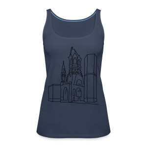 Kaiser Wilhelm Memorial Church Berlin Long Sleeve Shirts - Women's Premium Tank Top