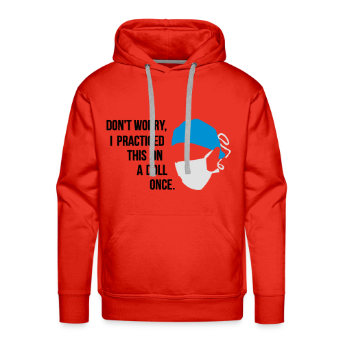 Chirugien- Médecin - Dentiste - Sweat-shirt à capuche Premium pour hommes