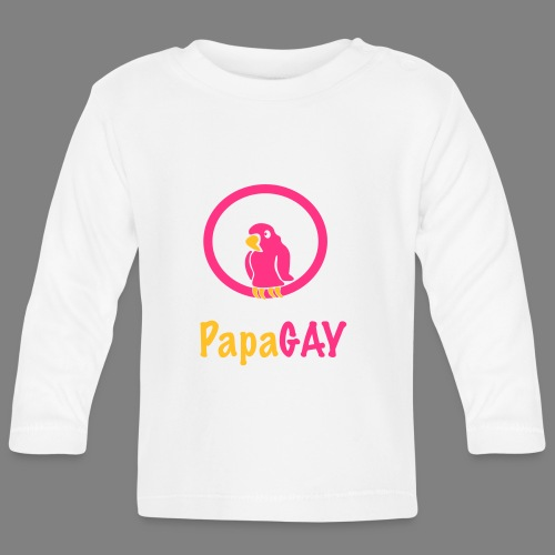PapaGAY - Baby Langarmshirt