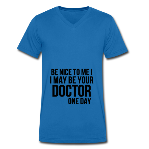 Be Nice To Me - T-shirt bio col V Stanley & Stella Homme