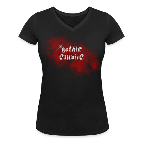 Gothic-Empire Logoshirt Männer - Frauen Bio-T-Shirt mit V-Ausschnitt von Stanley & Stella