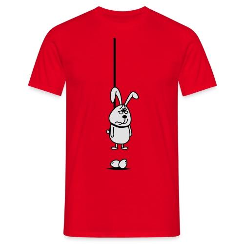 Hängender Osterhase 2c T-Shirts - Männer T-Shirt