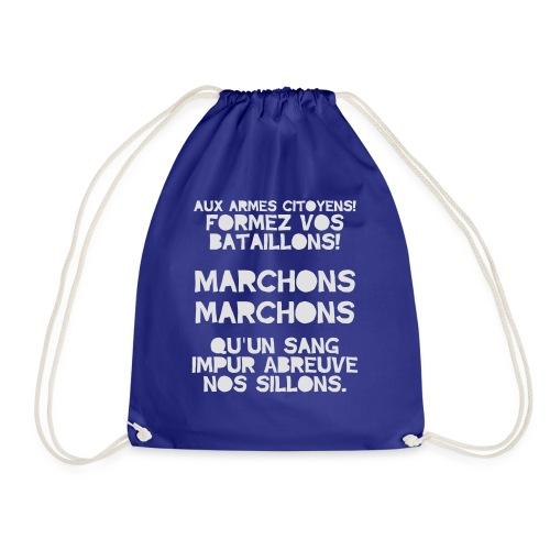 La Marseillaise - France Men's T-shirts - Drawstring Bag